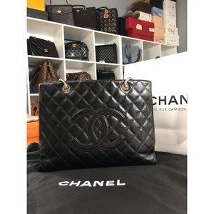 Chanel GST Black Caviar